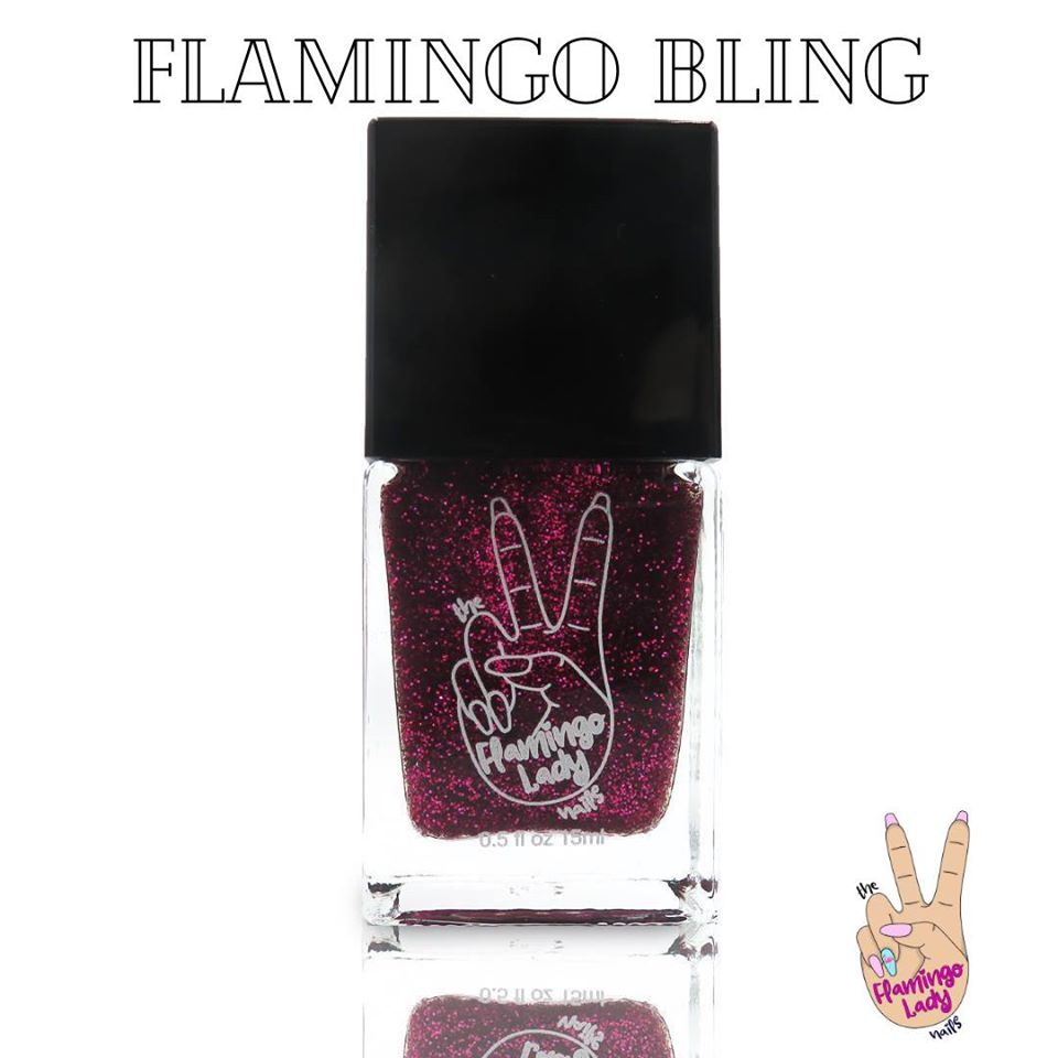 Flamingo Bling