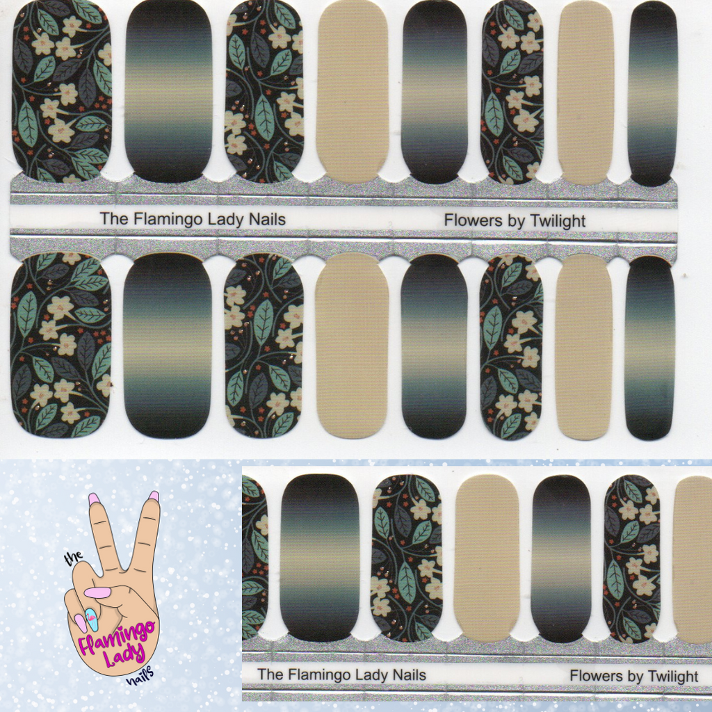 Flowers by Twilight - A TFLNails Exclusive!