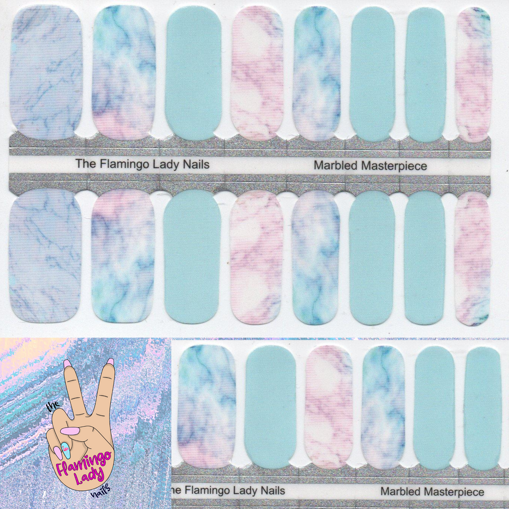 Marbled Masterpiece- A TFLNails Exclusive!