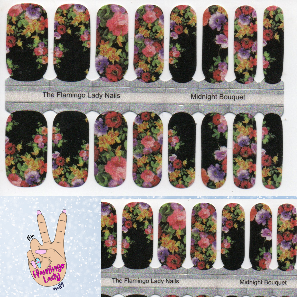 Midnight Bouquet - A TFLNails Exclusive!