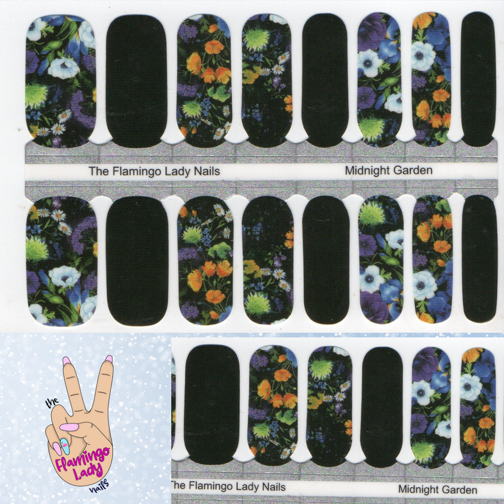 Midnight Garden - A TFLNails Exclusive!