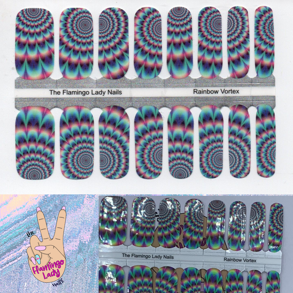Rainbow Vortex- A TFLNails Exclusive!