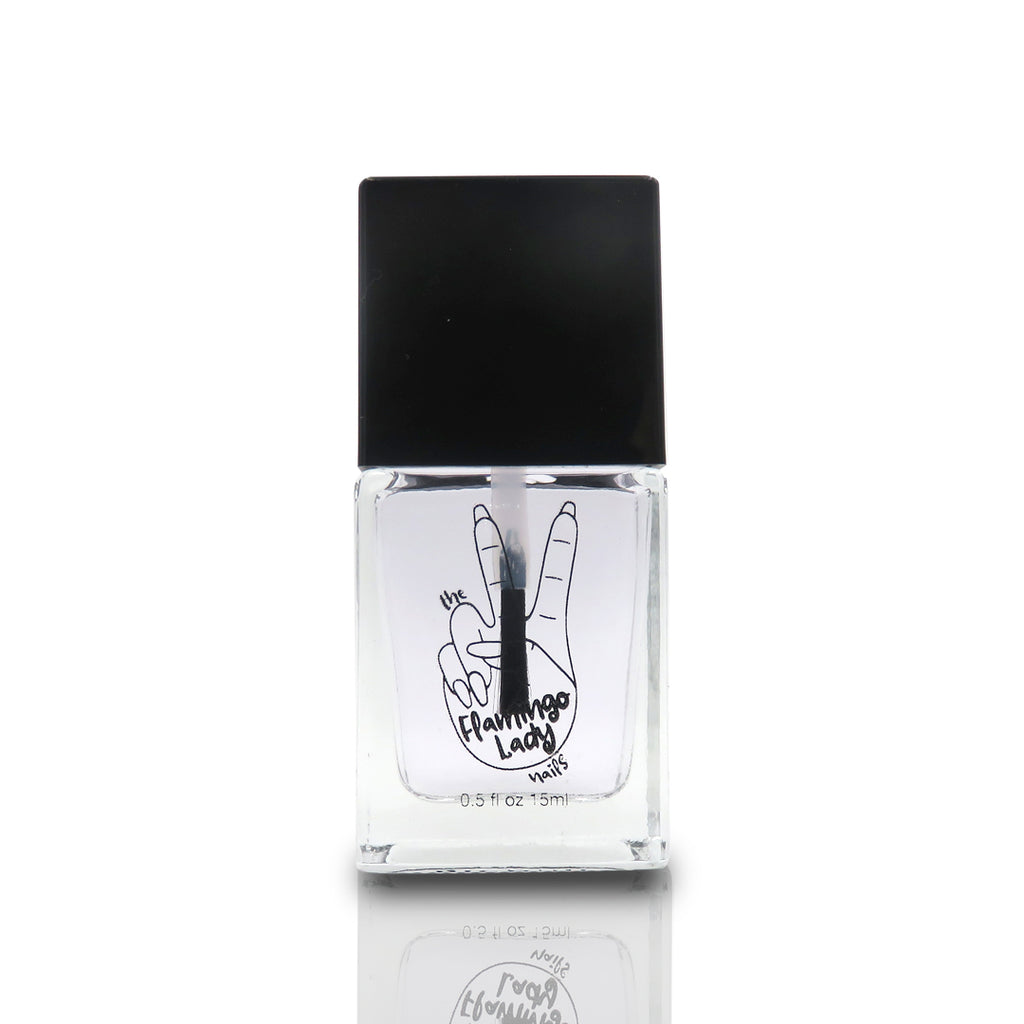 Shines Like a Diamond Top Coat with a Gel Like Finish