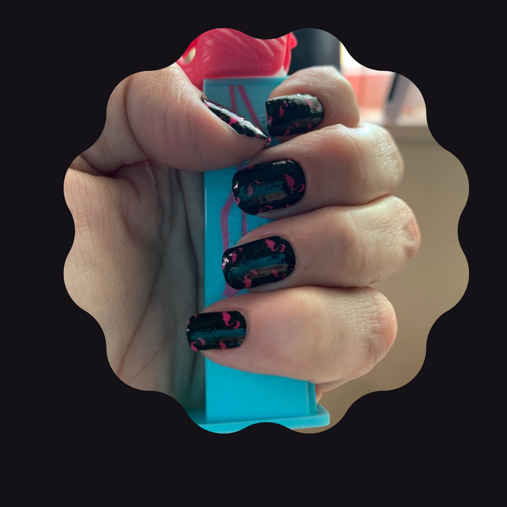 I Flock for You! a TFLNails Exclusive - The Flamingo Lady Nails