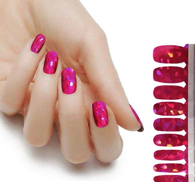 Lux Disco Pink - The Flamingo Lady Nails