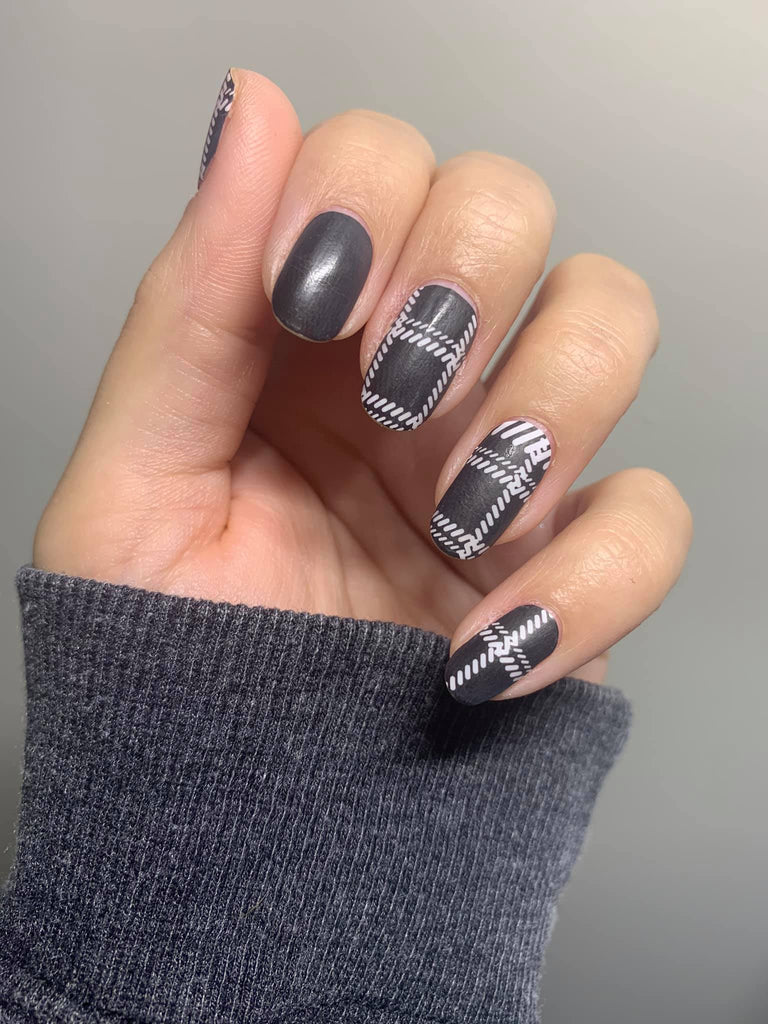 Smokin' Plaid - A TFLNails Exclusive!