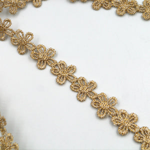 15mm Metallic Small Daisy Braid 6864