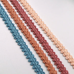 7mm Vintage Feather Braid 713