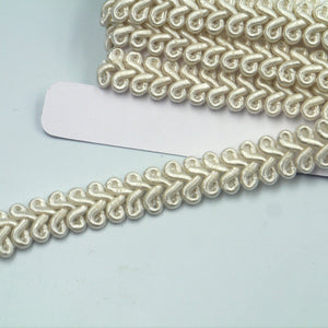 12mm Gimp Braid In 'Feather' Design  9893