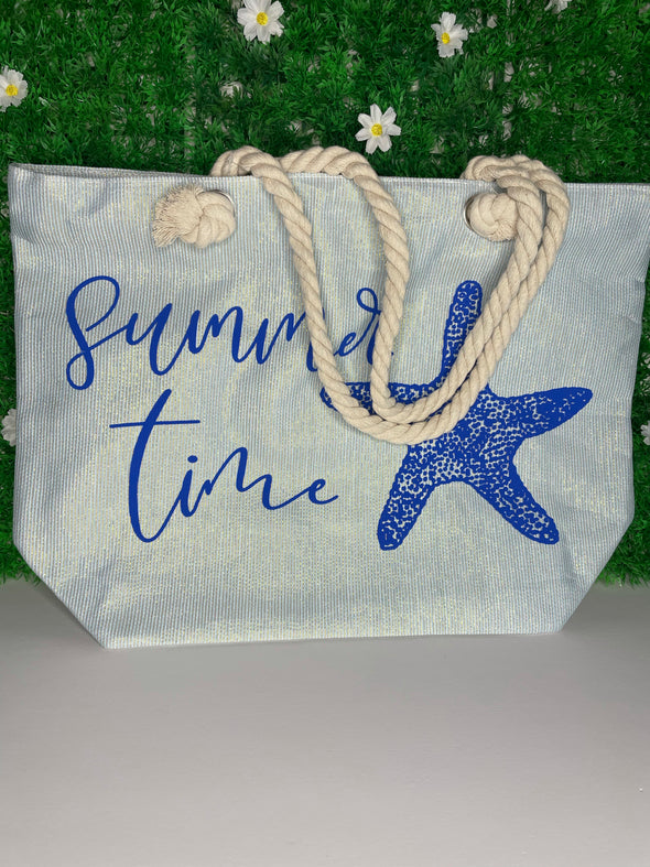 SUMMER TIME SHIMMER TOTE