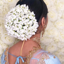 Load image into Gallery viewer, 3 meters silk white jasmine