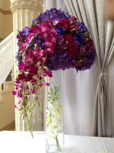 Entrance Table Arrangement