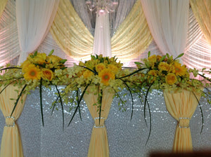Head Table Arrangement