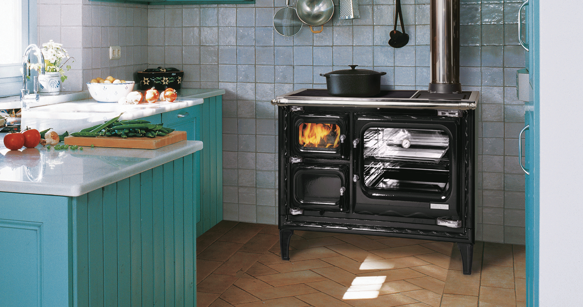 Hearthstone Deva Wood Cook Stove