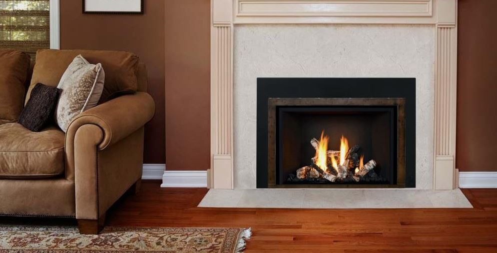 Mendota FV33i Decor Gas Fireplace Insert