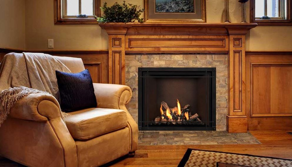 Mendota FV-41 Timberline Zero Clearance Fireplace
