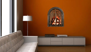 Mendota Greenbriar Zero Clearance Fireplace