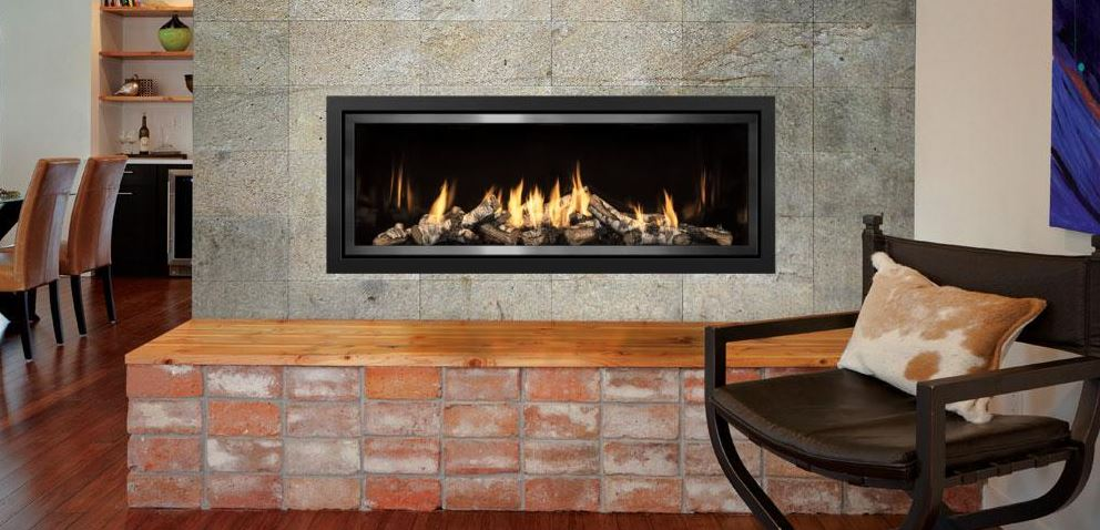 Mendota Fullview ML54 Decor Linear Zero Clearance Fireplace