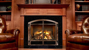 Menodta DXV-45 Deep Timber 4 Zero Clearance Fireplace