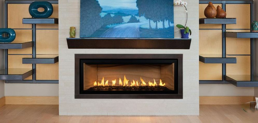 Mendota Fullview ML39 Timberline Linear Zero Clearance Fireplace
