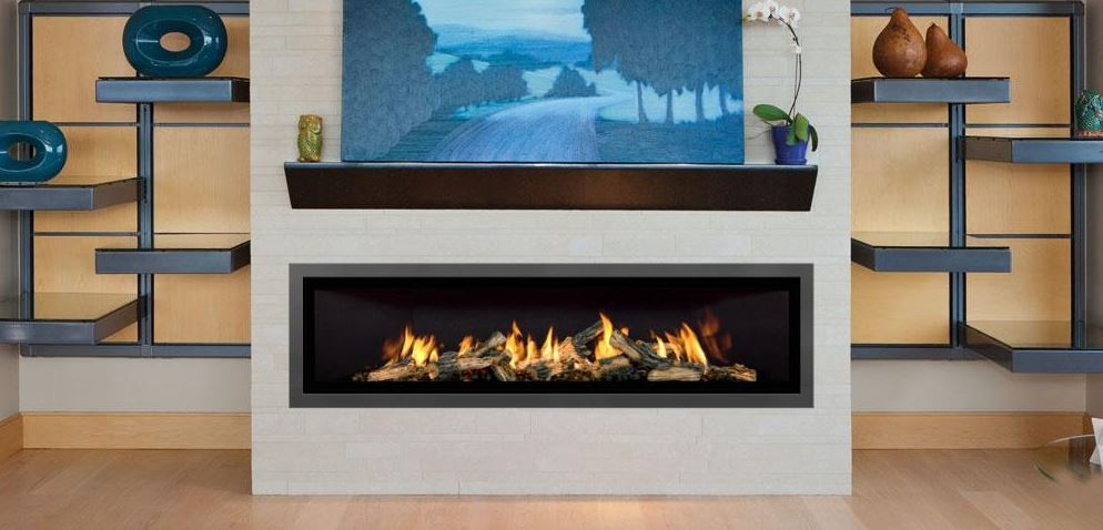 Mendota Fullview ML72 Decor Linear Zero Clearance Fireplace