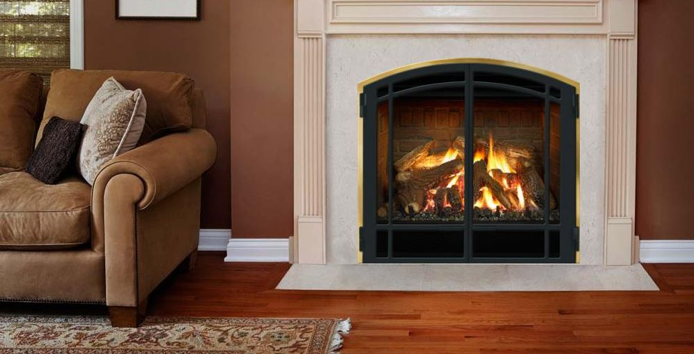 Mendota DXV-35 Deep Timber 4 Zero Clearance Fireplace