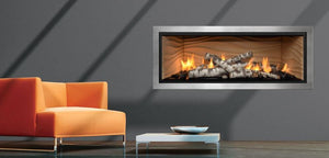 Mendota Fullview ML47 Decor Linear Zero Clearance Fireplace