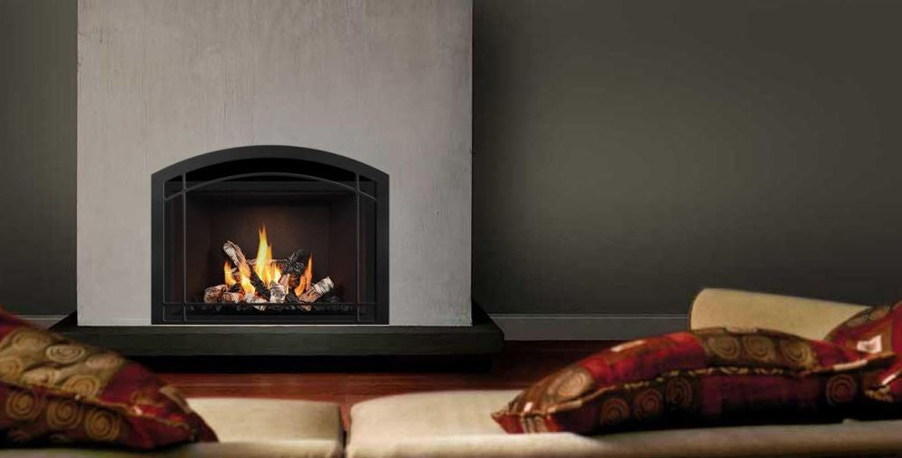 Mendota FV34 Timberline Zero Clearance Gas Fireplace