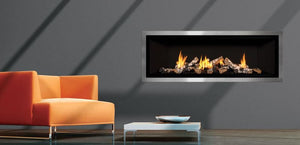Mendota Fullview ML60 Timberline Linear Zero Clearance Fireplace