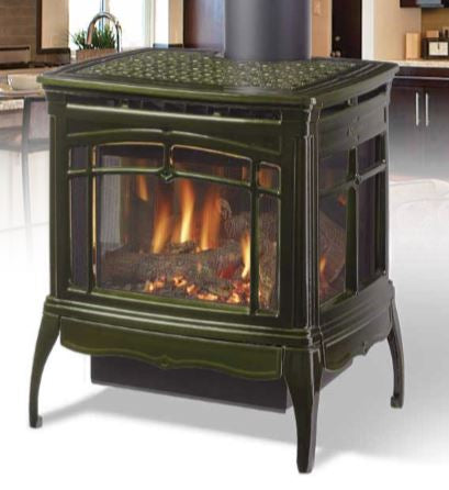 HEARTHSTONE WAITSFIELD DX GAS STOVE