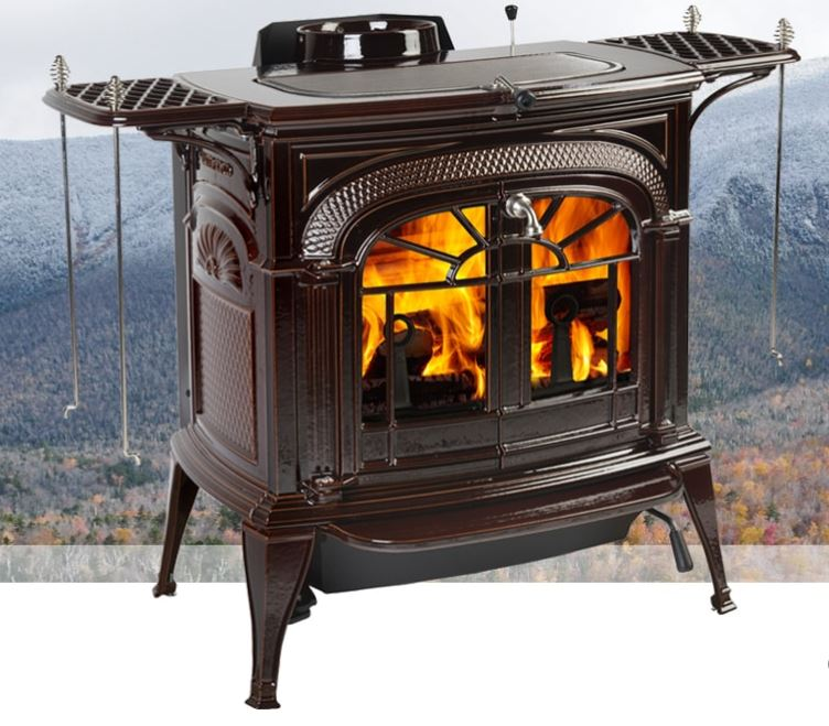 VERMONT CASTINGS INTREPID FLEXBURN WOOD STOVE