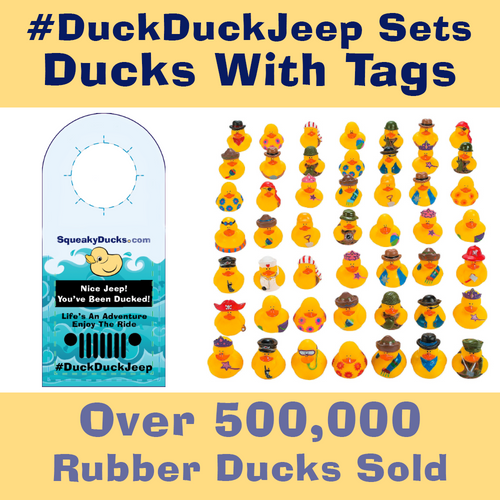 Jeep Duck Sets with Tags