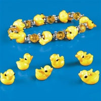 Beads - Yellow Duck (Glass)