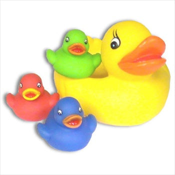 Diverse Rubber Duck Family - Multicolored