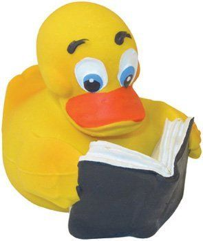 Squeaky Reader Duck