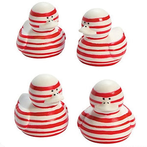 Candy Cane Ducks - 2""