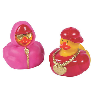 Hip Hop Valentines Ducks - 2""
