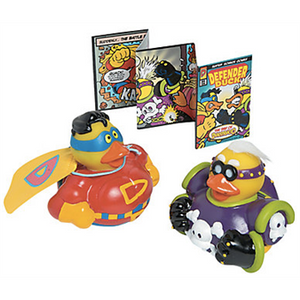Limited Edition Super Hero Duck Set - 2""
