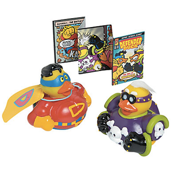 Limited Edition Super Hero Duck Set - 2