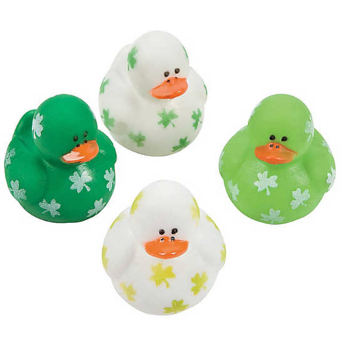 Mini Shamrock Ducks - 1 1/2