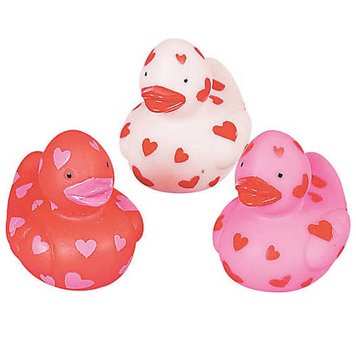 Mini Valentines Ducks - 1 1/2