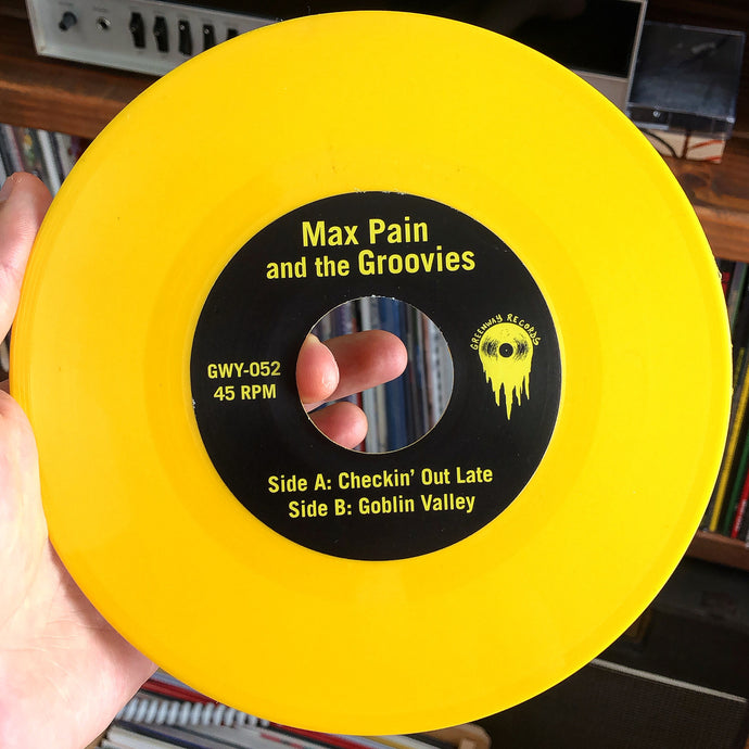 Max Pain and the Groovies - Sounds From The Hole EP