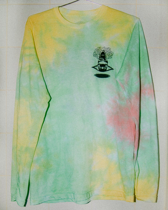 Cotton Candy Floating vEYEnyl Long Sleeve