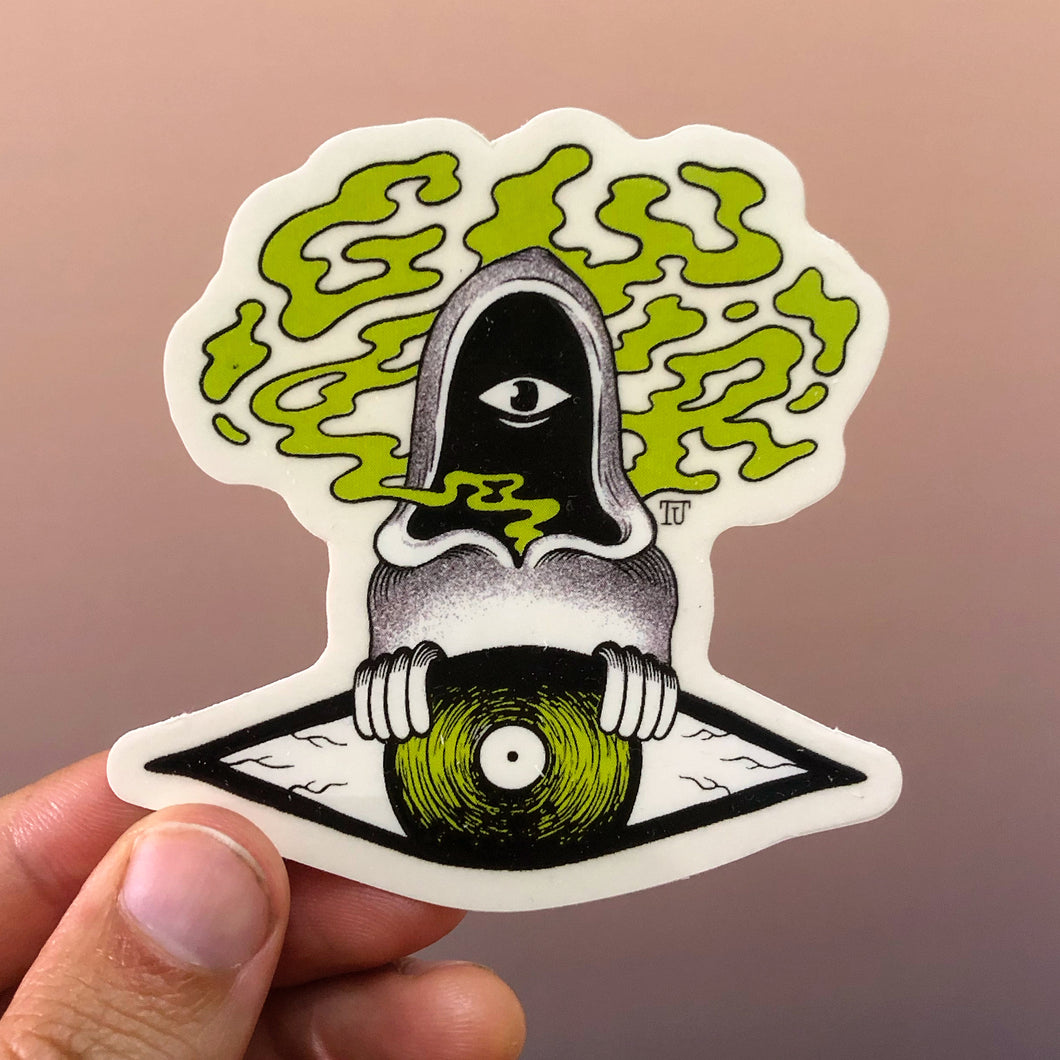 Floating vEYEnyl Sticker