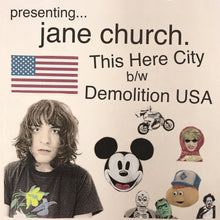Load image into Gallery viewer, Presenting... Jane Church 7""