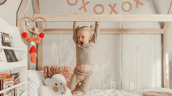 Designing a bedroom to grow with your kiddo