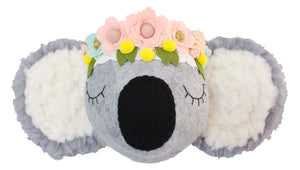 Koala with Flower crown Ready to ship!