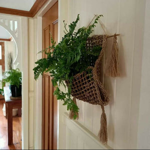 Woven Hanging Baskets