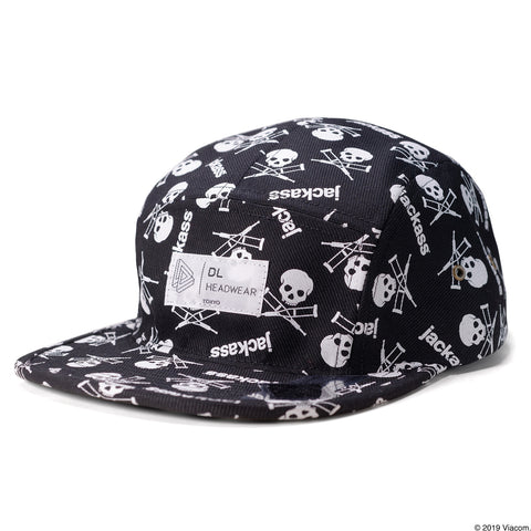 jackass x DL - JA Pattern 5P Camp Cap