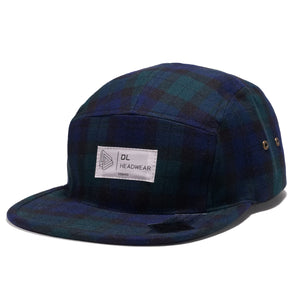 "Omega 5Panel Camp cap ""black watch"""